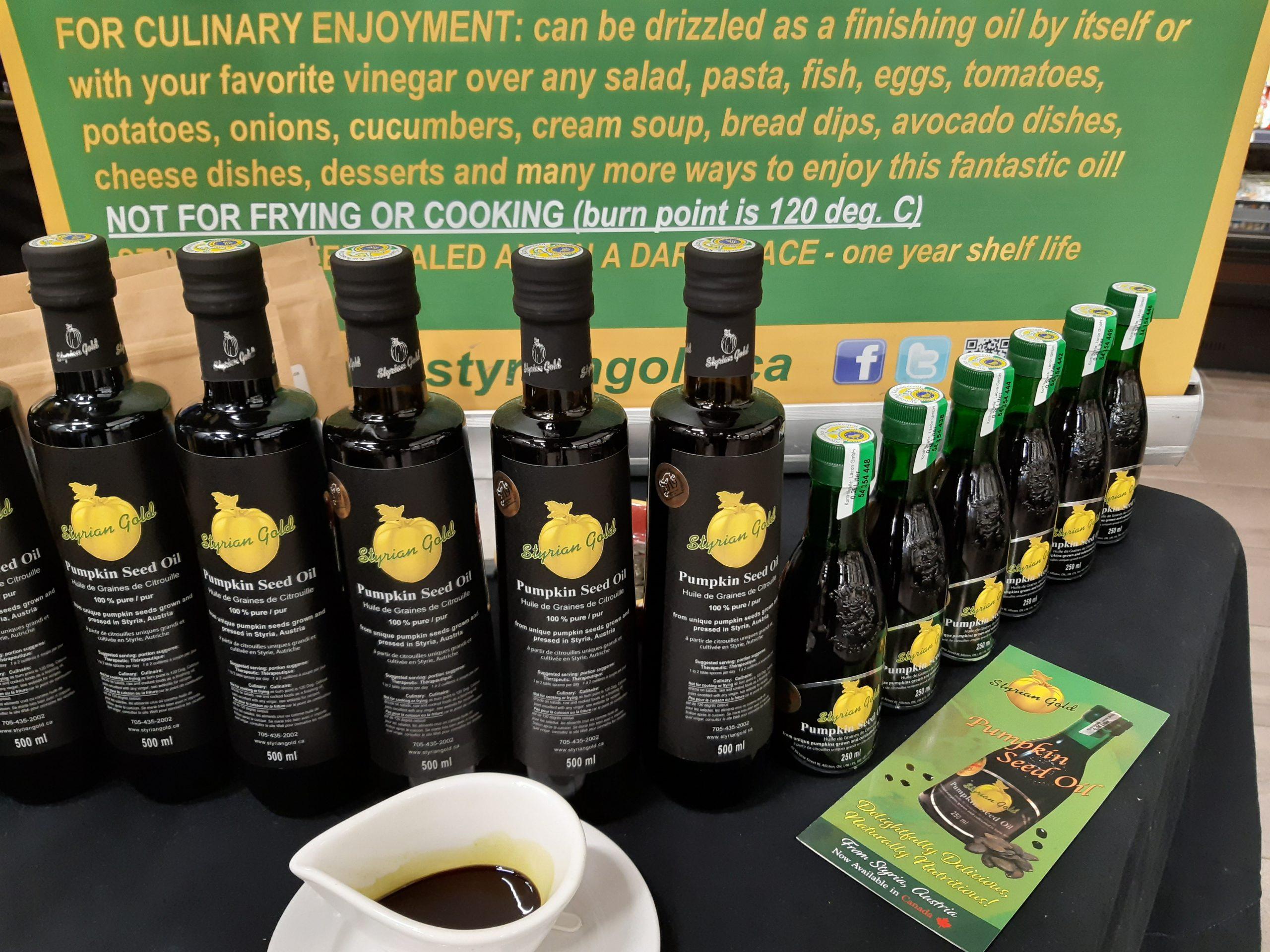 best pumpkin seed oil in the world
